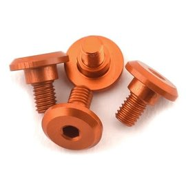 1UP Racing 1UP80251  1UP Racing 3x4mm Aluminum Servo Mounting Screws (Orange) (4)