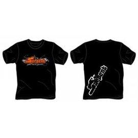 Serpent SER190198  T-shirt Serpent Splash black (2XL)