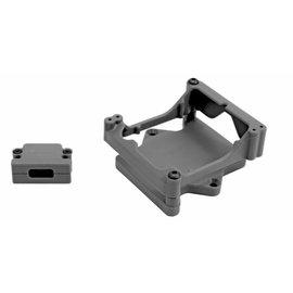 RPM R/C Products RPM81322  Black ESC Cage for the Castle Sidewinder 4 ESC