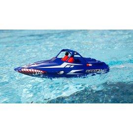 "Proboat PRB08045T2  Sprintjet 9"" Self-Righting Jet Boat Brushed RTR (Blue)"