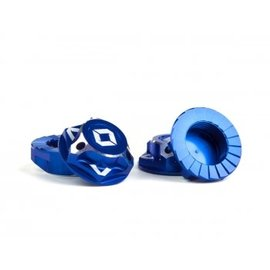 Avid RC AV1822-BLU  Blue Triad 17mm Capped Wheel Nuts (4)
