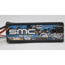 SMC SMC65120-6S2PXT90  True Spec 6S 22.2v 6500mAh 75C LiPo w/ XT90 Plug