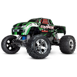 Traxxas TRA36054-1 Green Stampede 2WD Monster Truck RTR w/ Battery & Charger