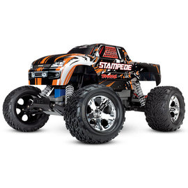 Traxxas TRA36054-1 Orange Stampede 2WD Monster Truck RTR w/ Battery & Charger