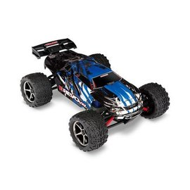 Traxxas TRA71076-3 BLUEX  1/16 E-Revo VXL TSM 4WD RTR with battery & charger