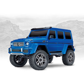 Traxxas TRA82096-4   Blue Mercedes-Benz G 500® 4x4²  Body TRX-4 Scale and Trail Crawler