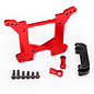 Traxxas TRA6738R  Rustler 4x4 Red Anodized Rear Shock Tower