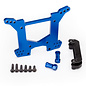 Traxxas TRA6738X  Rustler 4x4 Blue Anodized Rear Shock Tower