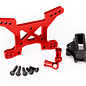 Traxxas TRA6739R  Rustler 4x4 Red Anodized Front Shock Tower