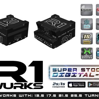 "R1wurks 040013  R1 ""Super Stock"" Digital 3 ESC"