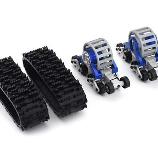 Xtra Speed XTA-XS-59606BU  Blue Xtra Speed SCX10 Tanky All Terrain Tracks (2)