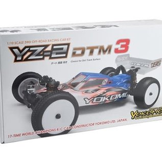 Yokomo YOKB-YZ2DTM3  YZ-2 DTM 3.0 1/10 2WD Electric Buggy Kit (Dirt)