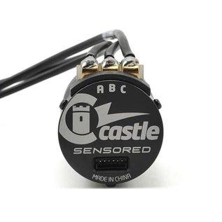 Castle Creations CSE010-0155-11  Mamba X Waterproof Sensored Brushless Combo w/3800kV Slate