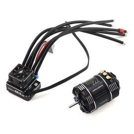 Hobbywing HWA38020298  XR10 Pro G2 Sensored Brushless ESC/V10 G3 Motor Combo (17.5T)