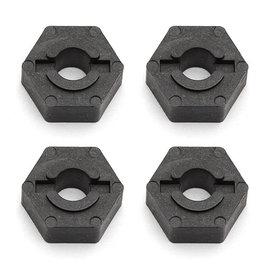 Team Associated ASC3949  Graphite Factory Team Wheel Hex Adaptor (4)