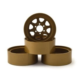 "Team Associated ASC42100  Enduro Method 701 Trail Series 1.9"" Beadlock Wheels (Bronze) (4)"