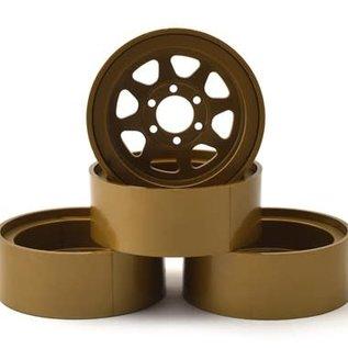 "Team Associated ASC42100  Enduro Method 701 Trail Series 1.9"" Beadlock Wheels (Bronze) (4)"