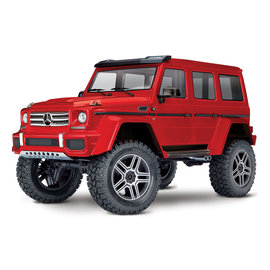 Traxxas TRA82096-4   Red Mercedes-Benz® G 500® 4x4²  Body TRX-4 Trail Crawler