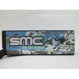 SMC SMC5097-6S1PD  True Spec 6S 22.2v 5000mAh 90C Lipo w/ Dean Plug