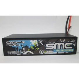 SMC SMC5097-4S1PD  True Spec Premium V2  4S 14.8v LCG 5000mAh 90C LiPo w/ Deans Plug