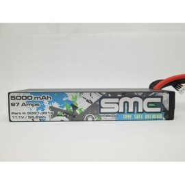 SMC SMC5097-3S1PXT90  True Spec 3S 11.1V 5000mAh 90C Lipo w/XT90 Plug