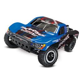 Traxxas TRA58076-4  Blue Slash VXL: 1/10 Scale 2WD Short Course Racing Truck with TQi Traxxas (TSM)