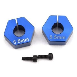 Custom Works R/C CSW7280 12mm clamping hex for 5mm axle 5.5mm offset