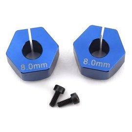 Custom Works R/C CSW7281 12mm clamping hex for 5mm axle 8mm offset