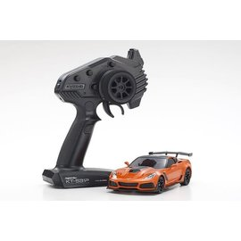 Kyosho KYO32334OR  Mini-Z RWD Corvette ZR1 Sebring Orange w/ LED Lights