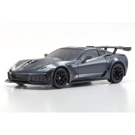 Kyosho MZP240GM  Mini-Z Chevy Corvette ZR1 Shadow Gray Metallic Body