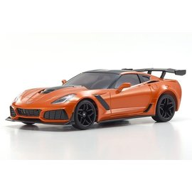 Kyosho MZP240OR  Mini-Z Chevy Corvette ZR1 Sebring Orange Body