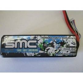 SMC SMC105205-3S2PT  True Spec 3S 11.1v 10,500mAh 90C LiPo w/ Traxxas Plug