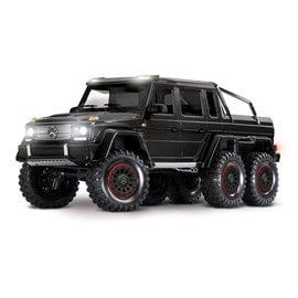 Traxxas TRA88096-4  Black TRX-6 Mercedes-Benz G 63 6x6