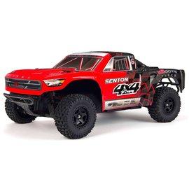 Arrma ARA102715T1  Arrma Red/Black Senton Mega 1:10 Brushed 4WD Short Course RTR