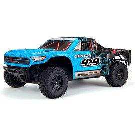 Arrma ARA102715T2  Arrma Blue/Black Senton Mega 1:10 Brushed 4WD Short Course RTR