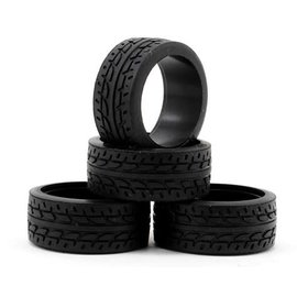 Kyosho KYOMZW37-30  MINI-Z Kyosho 8.5mm Racing Radial Tire (4) (30 Shore)