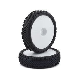 """Proline Racing PRO8278-13  Pro-Line Prism 2.2"""" 2WD Front Buggy Pre-Mounted Carpet Tires (White) (2) (Z3)"""