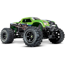 Traxxas TRA77086-4  Green X-MAXX 4x4, 8S Brushless Powered, Extreme Size Monster Truck (Green Design)