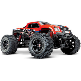 Traxxas TRA77086-4  Red X-MAXX 4x4, 8S Brushless Powered, Extreme Size Monster Truck