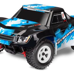 Traxxas TRA76064-5 BLUE LaTrax Desert Prerunner: 1/18-Scale 4WD Electric Truck