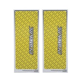 Protek RC PTK-1102-YLW  ProTek RC Universal Chassis Protective Sheet (Yellow) (2)