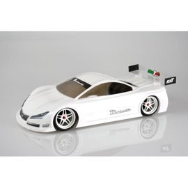 Mon-Tech Racing MB-019-013L  Mon-Tech Montecarlo Touring 190mm La Leggera SuperLight Clear Body