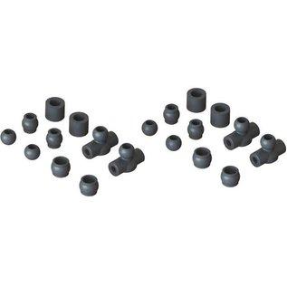Arrma AR330483  Composite Ball Set 6S Kraton/Outcast /Talion/Senton /Typhon ARAC3029