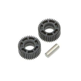 TLR / Team Losi TLR232069  Idler Gear & Shaft Laydown 22 4.0