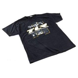 TLR / Team Losi TLR0507L  TLR 4.0 Black T-Shirt Large