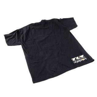 TLR / Team Losi TLR0507XXXL  TLR 4.0 Black T-Shirt XXXLarge