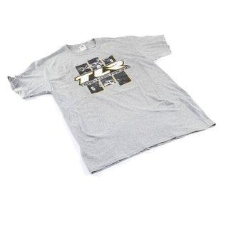 TLR / Team Losi TLR0508XXXL  TLR 4.0 Grey T-Shirt XXXLarge