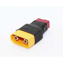 APS Racing APS93021  Deans T-Plug Female to XT90 Male Wireless Adapter (1)