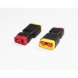 APS Racing APS93005  Deans Female to XT60 Male Wireless Adapter (1)