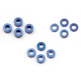 Xray XRA303121  Aluminum Shim Set (1.0mm, 2.0mm 3.0mm)